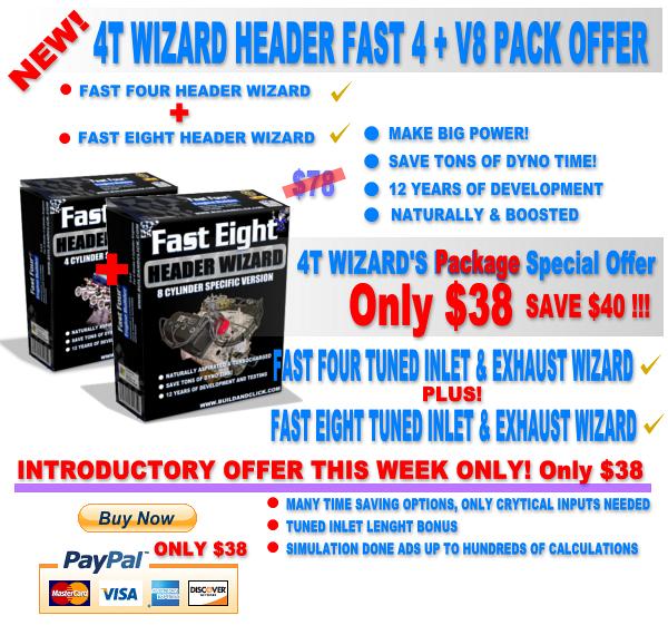 Exhaust Design Software Wizards